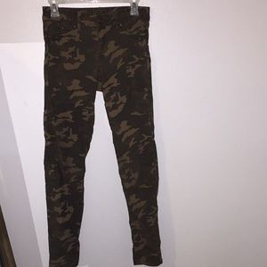 camo jeggings